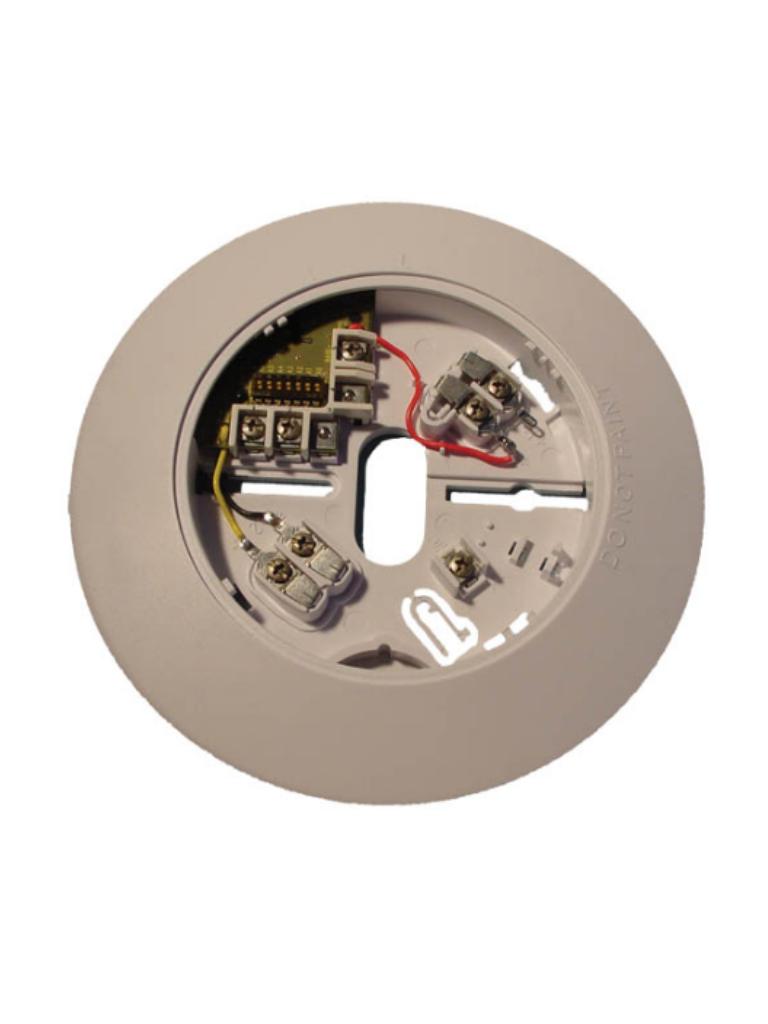 BOSCH F_F220B6PM - Base para detector serie F220 / Soporta 4 cables / POPIT Integrado