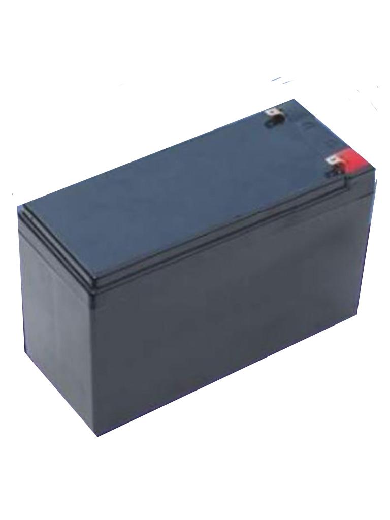 SAXXON 12VCD8AH - Bateria de Respaldo 12 VCD 8 AH AGM compatible DSC / RISCO (UB1280)