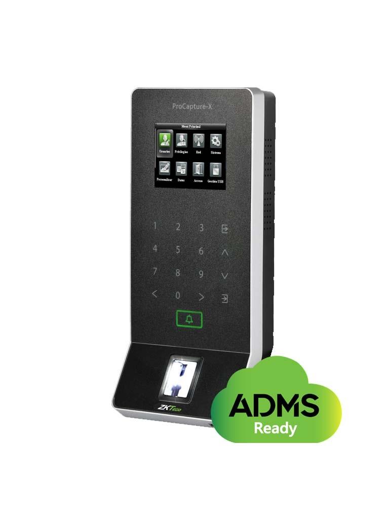 ZKTECO PROCAPTUREXID - Control de Acceso Profesional / 20000 Huellas / SILK ID /  PoE / 10000 Tarjetas / RFID 125  Khz