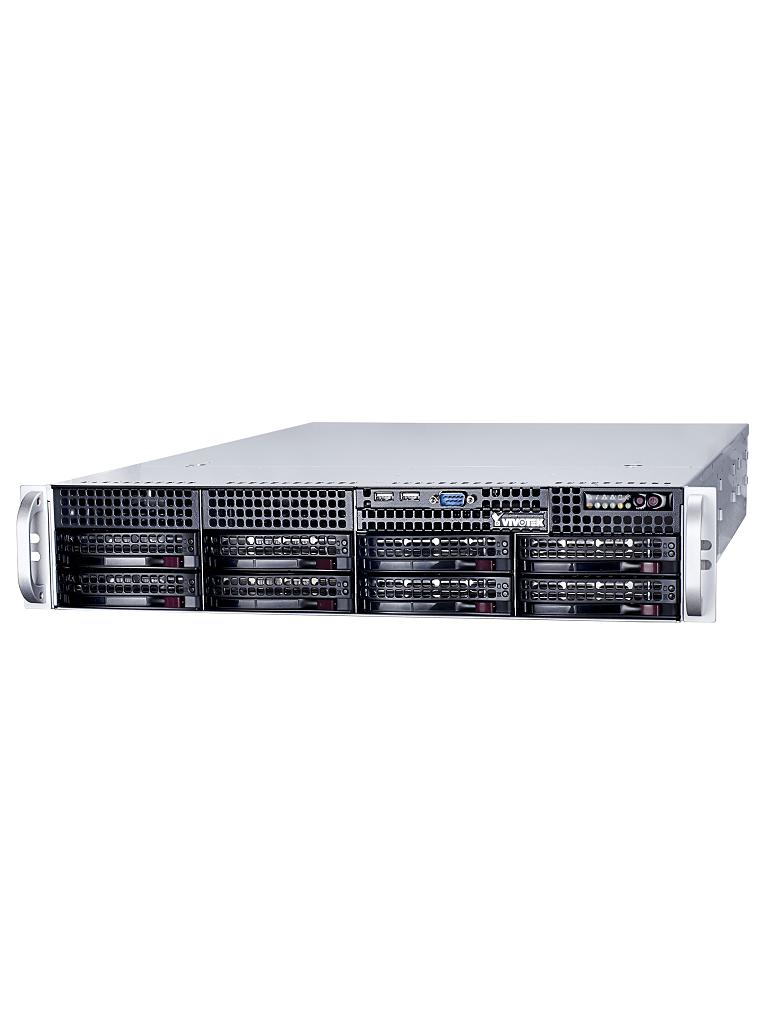 VIVOTEK NR9681 - NVR 64 Canales / Hasta 8  HDD / Salida  HDMI / H265 / ONVIF / Dual LAN / Energia redundante