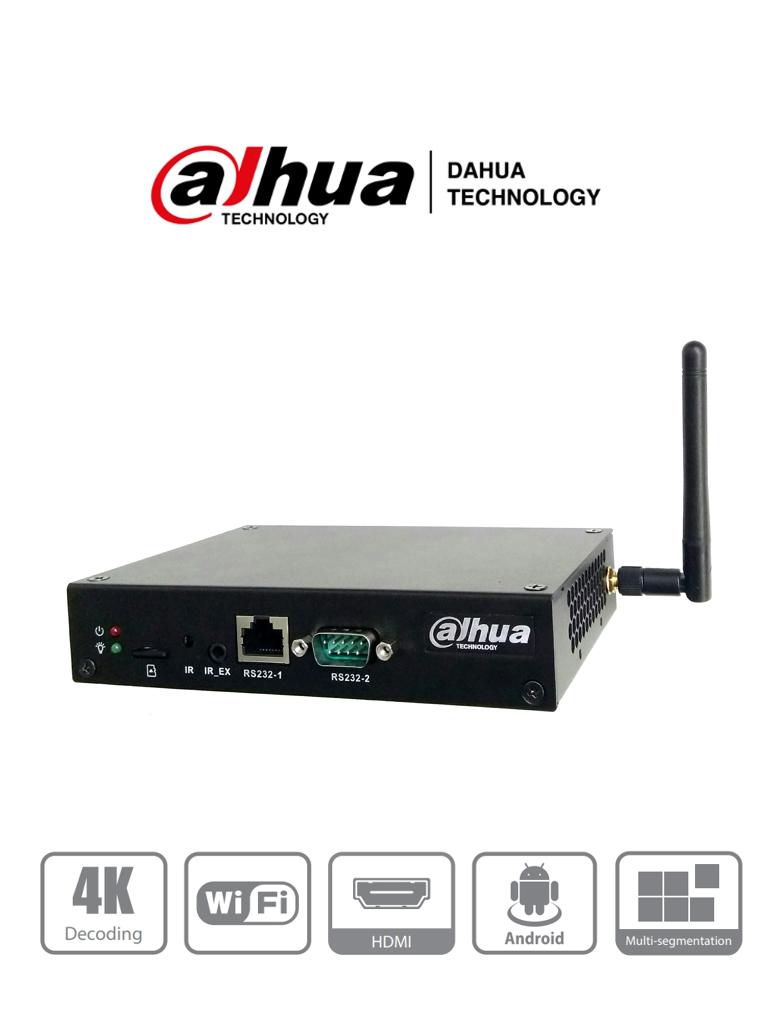 DAHUA DPB18-AI- Caja de Control de Multimedia para Digital Signage/ Android/ Sistema MPS para control/ Ethernet