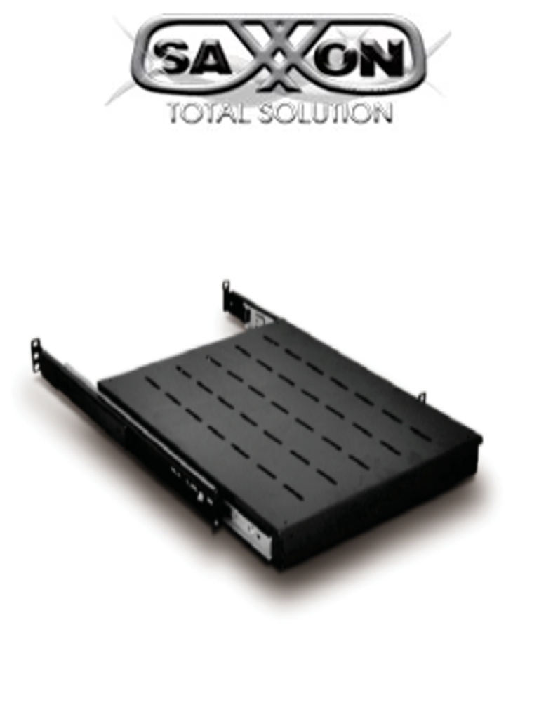 SAXXON 70023500- Charola telescópica para gabinete/ Deslizable/ Medidas 330 mm de ancho x 350 mm de profundidad