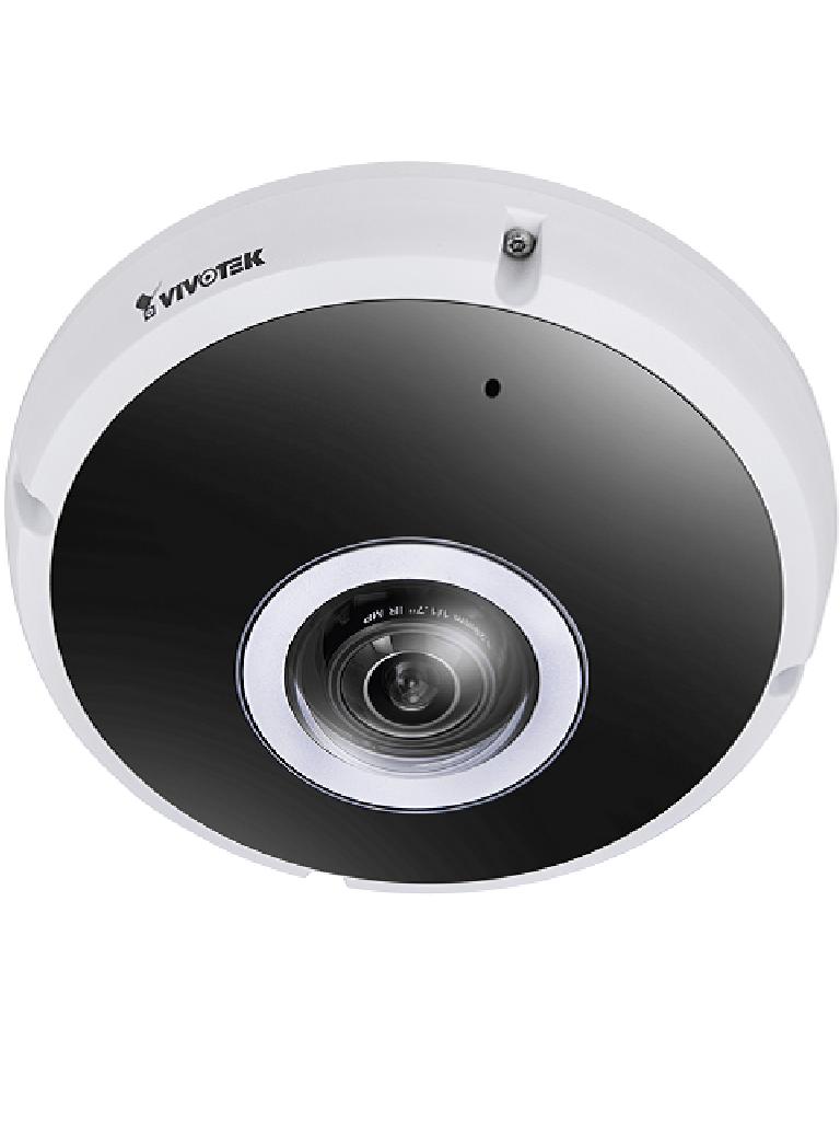 VIVOTEK FE9391EV - Camara IP FISHEYE 12 MP / Visión Panoramica 360º / DWDR / Clima extremo / Ir 20M / IP66 / IK10 / EN50155 / Microfono/#covid19