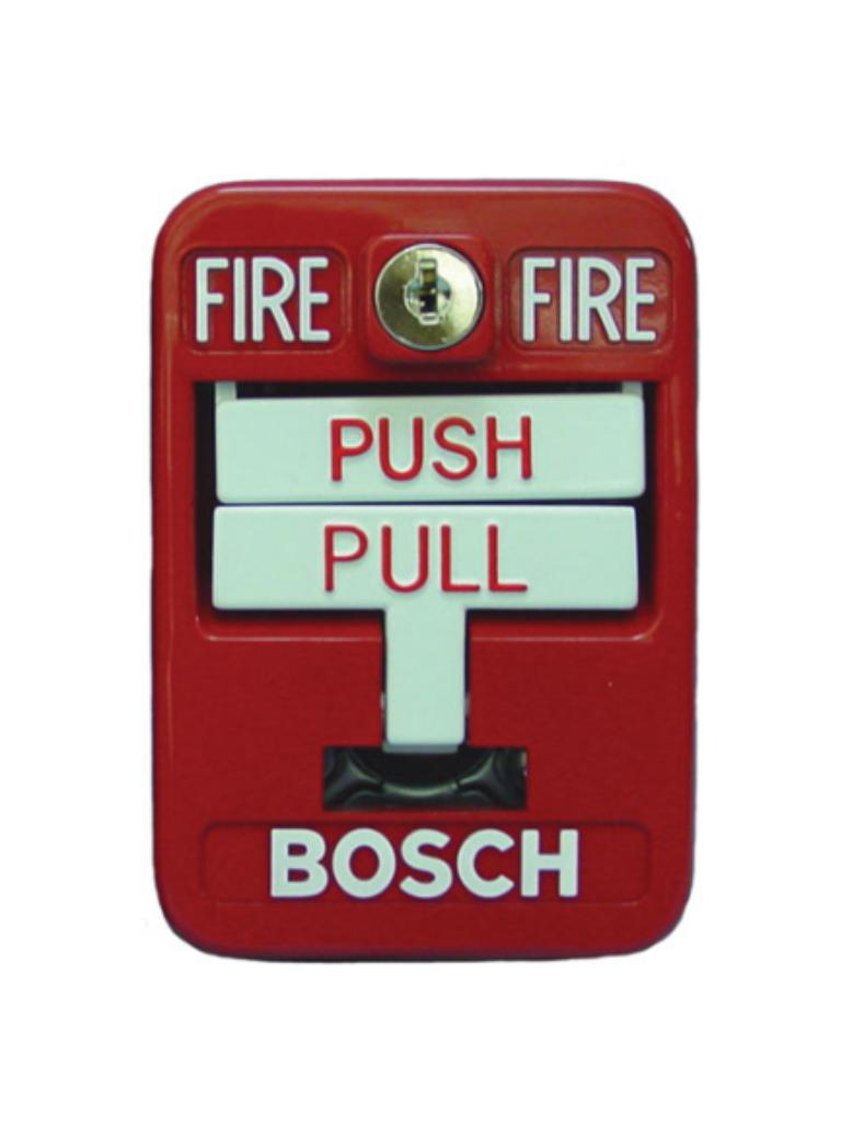 BOSCH F_FMM100DATK - Estacion MANUEAL de doble accion / Color roja / Convencional / UL