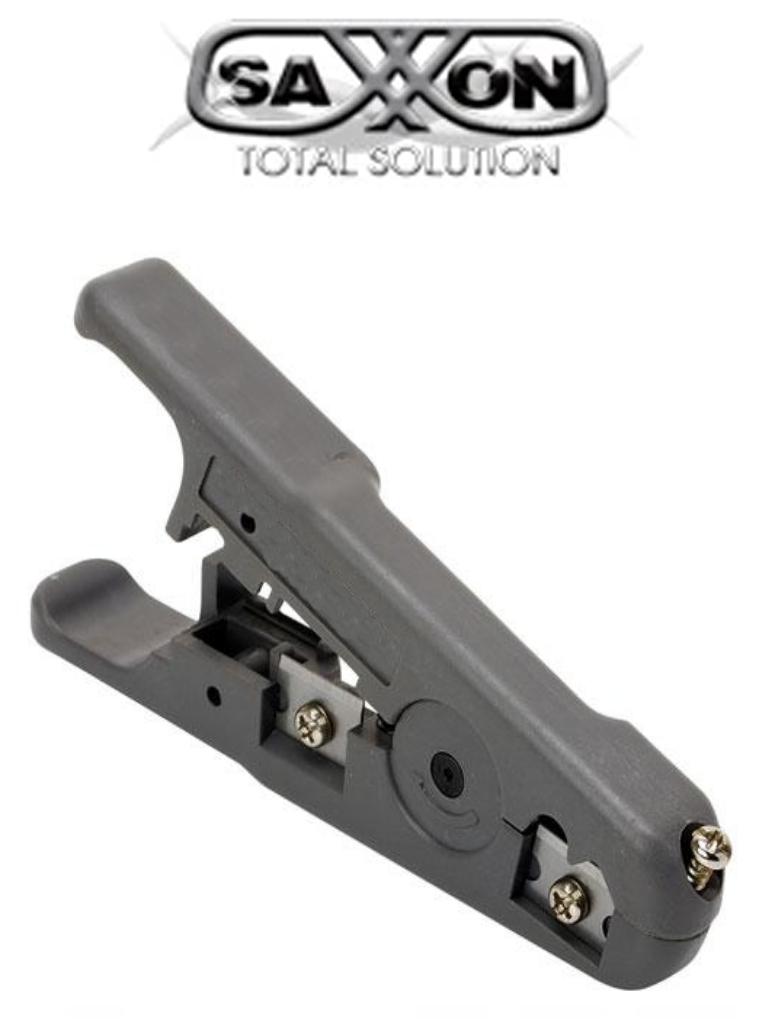SAXXON G501- Pinza pelacable para cable coaxial