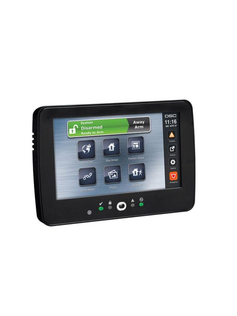 DSC HS2TCHPBKLN - NEO Teclado Pantalla Táctil de 7'' Color Negro ( no es panel auto contenido )