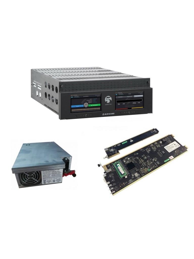 DSC SYSTEM5BASICO  - Paquete de Central de Monitoreo  System V para 4,096 Cuentas IP /Incluye, 1 SGS5KITNRIPS /1 SGMLRF5