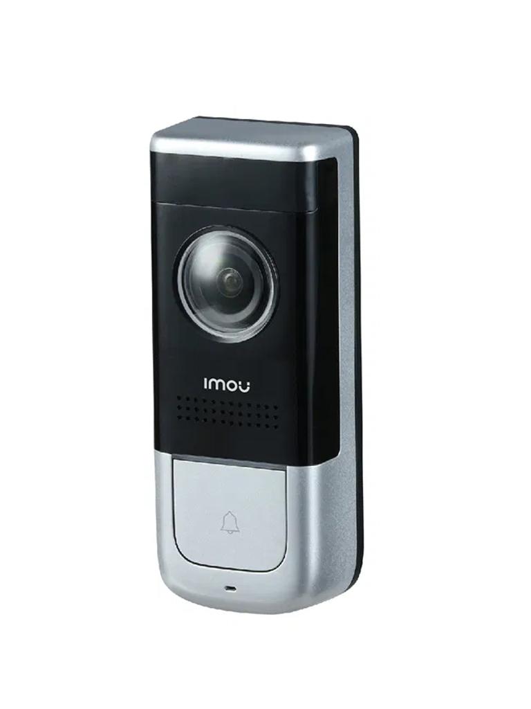 IMOU DOORBELL WIRED - Video Timbre de Puerta Alambrico/ 2 Megapixeles/ Ir 5 Mts/ Ranura para MICRO SD/ Cableado/ Audio/ IP65/ Compatible con Alexa y Asistente de Google/ PROMIMDH