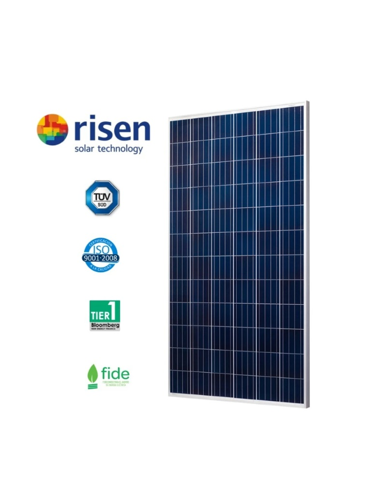 RISEN RSM726335P - Panel Fotovoltaico Policristalino TIER1 De 335W 72 Celdas 5 BB Alto Desempe��o