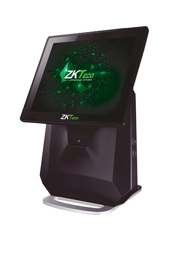 ZKTECO POS7550WP - Terminal Punto de Venta / Pantalla Capacitiva de 15 pulgadas / 4G RAM / 64G SSD / IP64 / 6 Puertos  USB