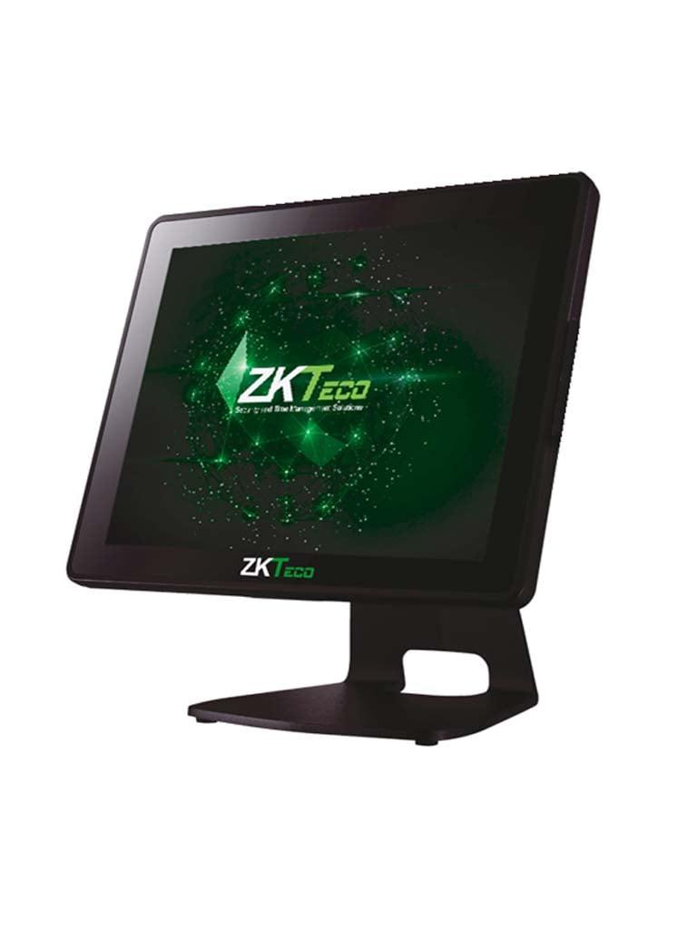 ZKTECO POS5510P - Terminal Punto de Venta / Pantalla Capacitiva de 15 Pulgadas / 4G RAM / 64G SSD / IP64 / 4 Puertos USB