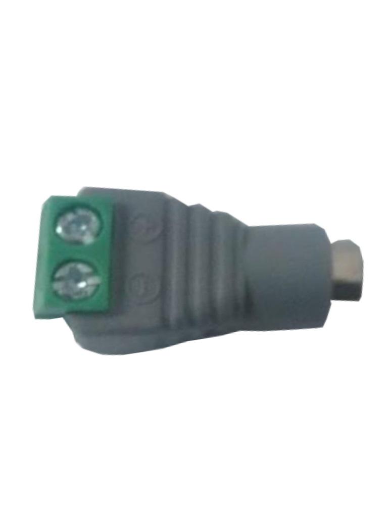 SAXXON PSUBR13H - Bolsa de 10 conectores hembra para fuente de poder / Resistente a la oxidacion / Bloque para atornillar positivo y negativo