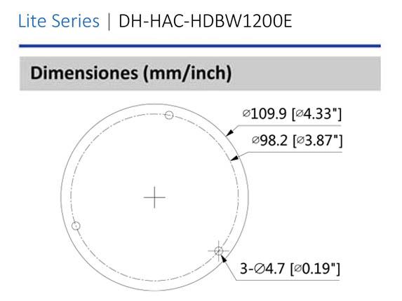 Dimensiones_DAHUA HDABW1200E28_Vista Posterior_400 x 430