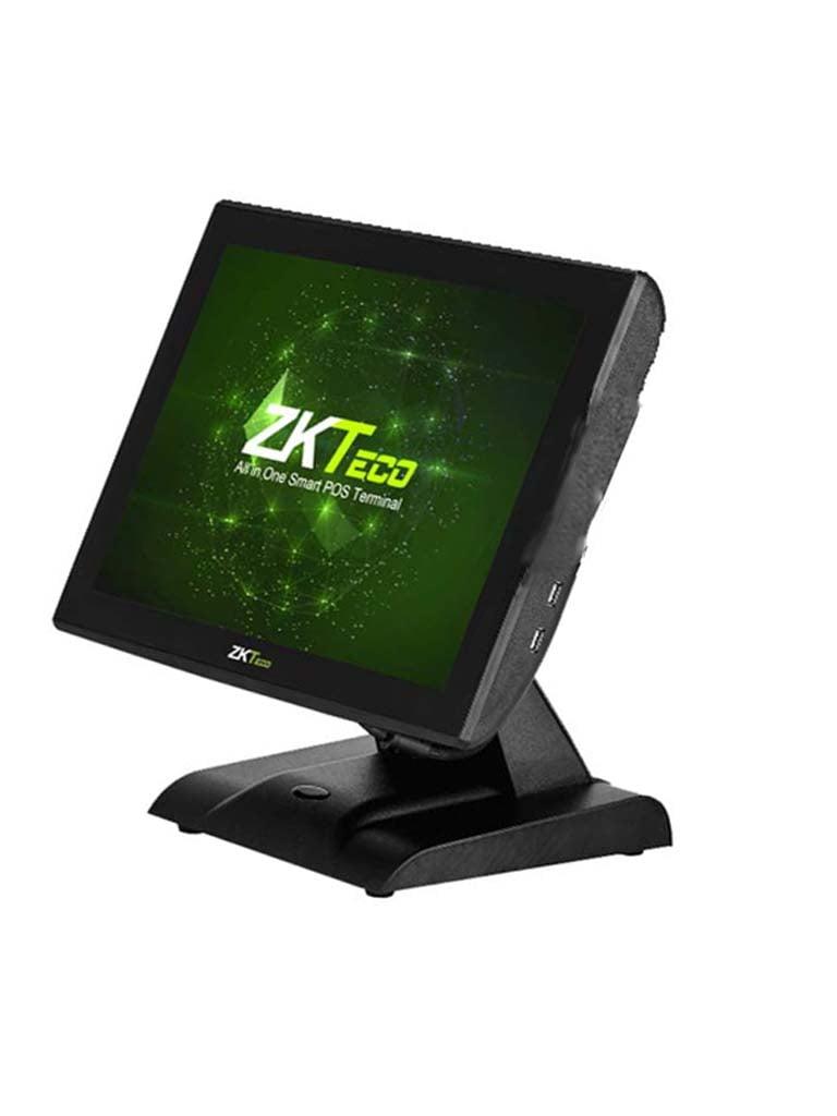 ZK ZK1515C4 - Terminal punto de venta / Pantalla CAPACITIVA de 15 pulgadas / 4G RAM / 32G SSD / 6 Puertos  USB