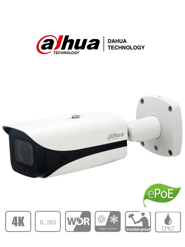 DAHUA IPC-HFW5831E-ZE - Camara IP Bullet 4K / 8 Megapixeles / Lente Motorizado 2.7mm-12 mm/ H.265+/ IP67/ IK10/ WDR/ HLC/ IR 50 Mts/  PoE/ ePoE/ Eco Savy