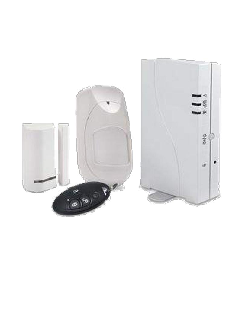 RISCO RW232P4C400A -WICOMM KIT INALAMBRICO/SENSOR DE MOVIMIENTO/CONTACTO MAGNETICO/KEYFOB/COMUNICACION IP Y 3G