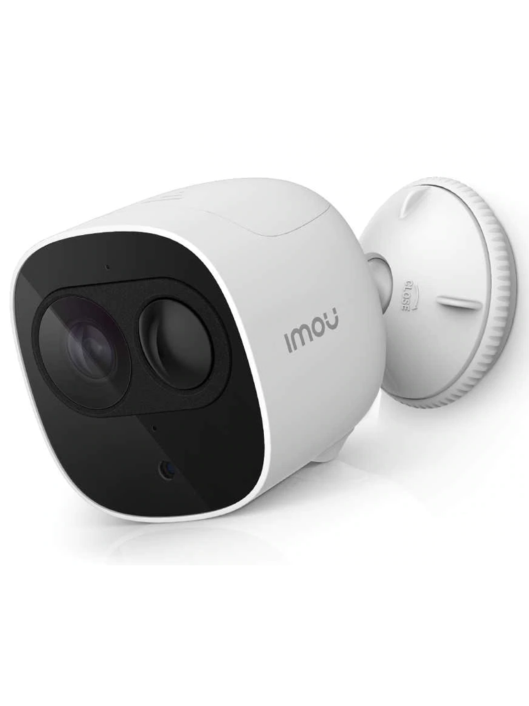 IMOU CELL PRO CAMERA - Camara IP  WiFi 2 megapixeles / 100% Libre de cables / 2.8 mm / Bateria RECARGABLE / PIR Integrado / Audio /  IP65 / Compatible con  Alexa y asistente de  Google