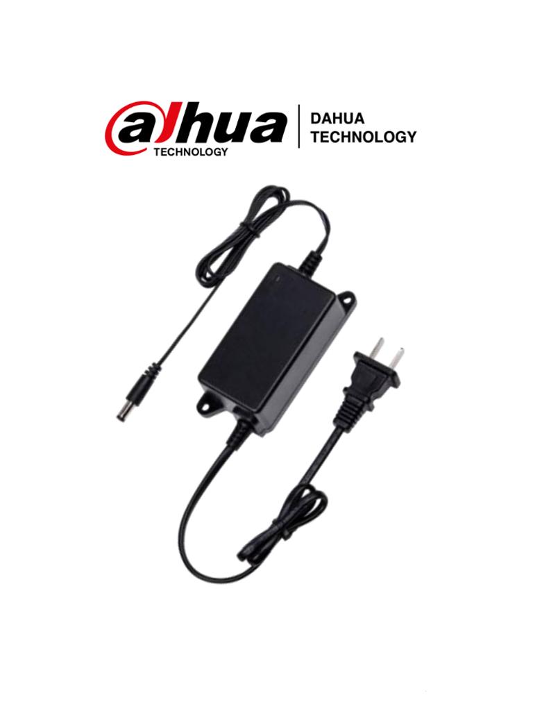 DAHUA DH-PFM320D-US - Fuente de Poder de 12VDC 2 Ampers/ Led Indicador de Funcionamiento/ Certificaciones  CE, FCC, UL-VI /