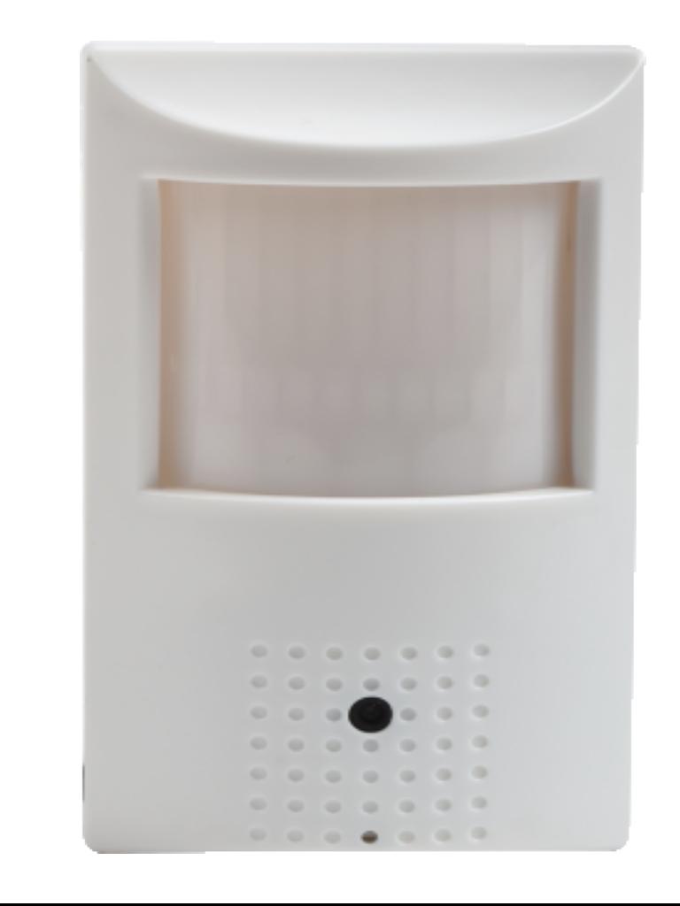 SAXXON TECH ZCO3720DM- Camara oculta en sensor de movimiento HDCVI 1080P/ TVI/ AHD/ Lente Fijo 3.7mm/ Angulo de vision 90 grados/ Interior