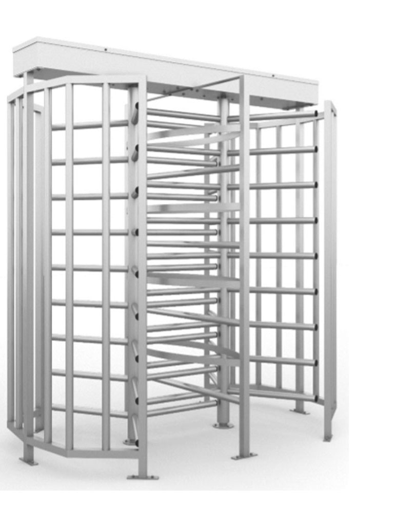 SAXXON GPD3 - Torniquete De Cuerpo Completo Doble Carril 100% Acero Inoxidable