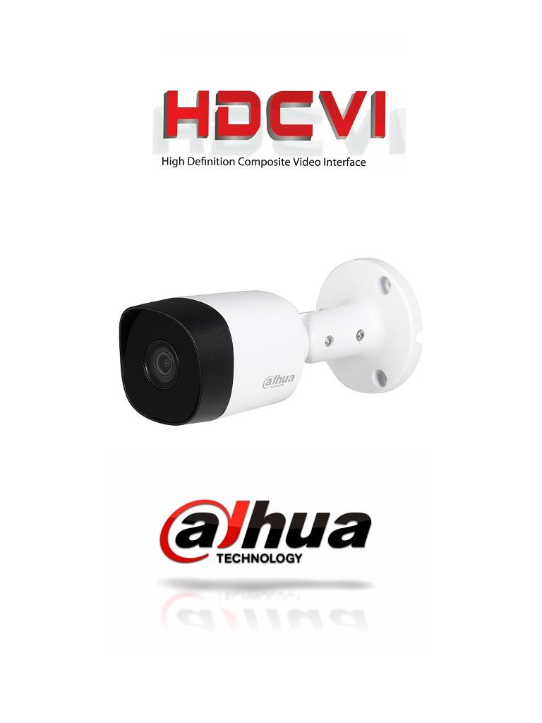 DAHUA COOPER B2A41- CAMARA BULLET HDCVI 4MP/ TVI/ AHD/ CVBS/ LENTE 2.8MM/ SMART IR 20 MTS/ IP67/ APERTURA LENTE 97 GRADOS/ METALICA