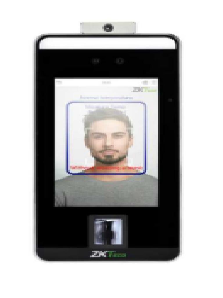 """ZKTECO SPEEDFACEV5L-TD  Terminal de Control de Acceso con Reconocimiento Facial de Alta Velocidad con Pantalla Touch de 5""""/Antipandemico/Detección de Temperatura/ TCP/IP (Sobrepedido)"""