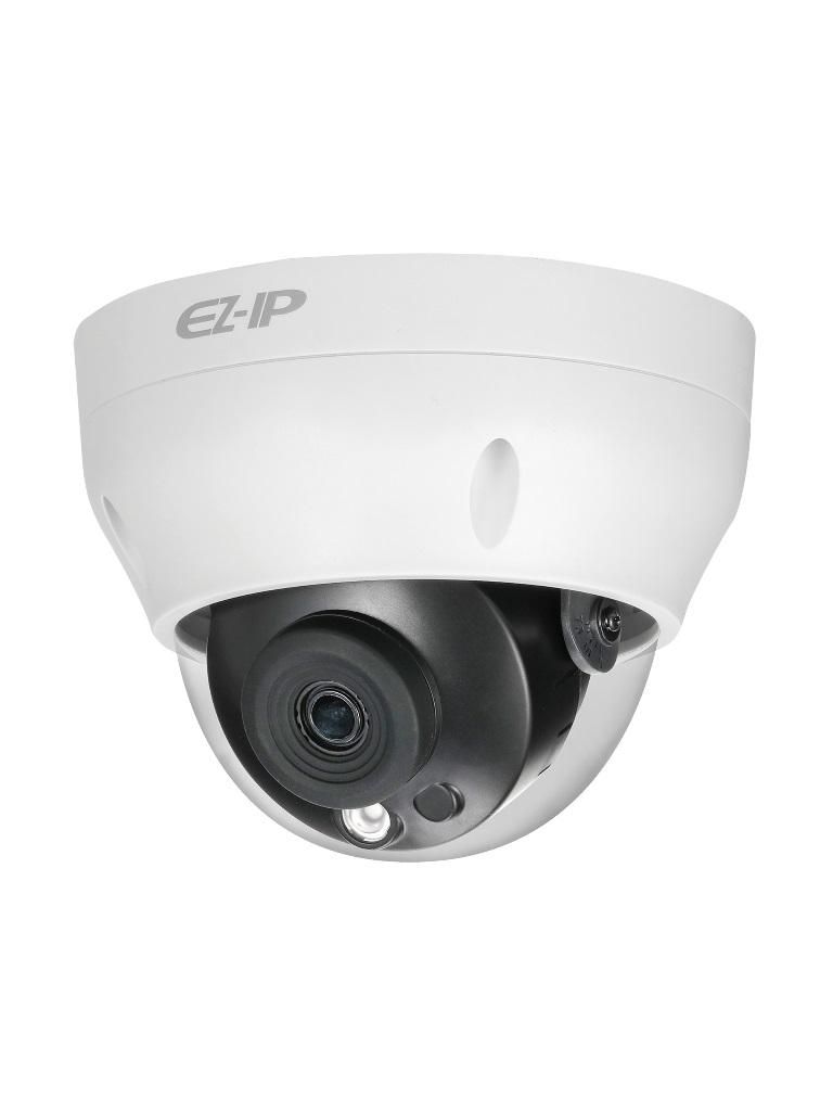 DAHUA EZIP D2B4028 - Camara IP domo 4  MP / H265+ / H265 / Lente 2.8 mm / Angulo de vision 101 grados / Luz ir 30 metros / IP67 /  PoE / DWDR / HLC / ONVIF