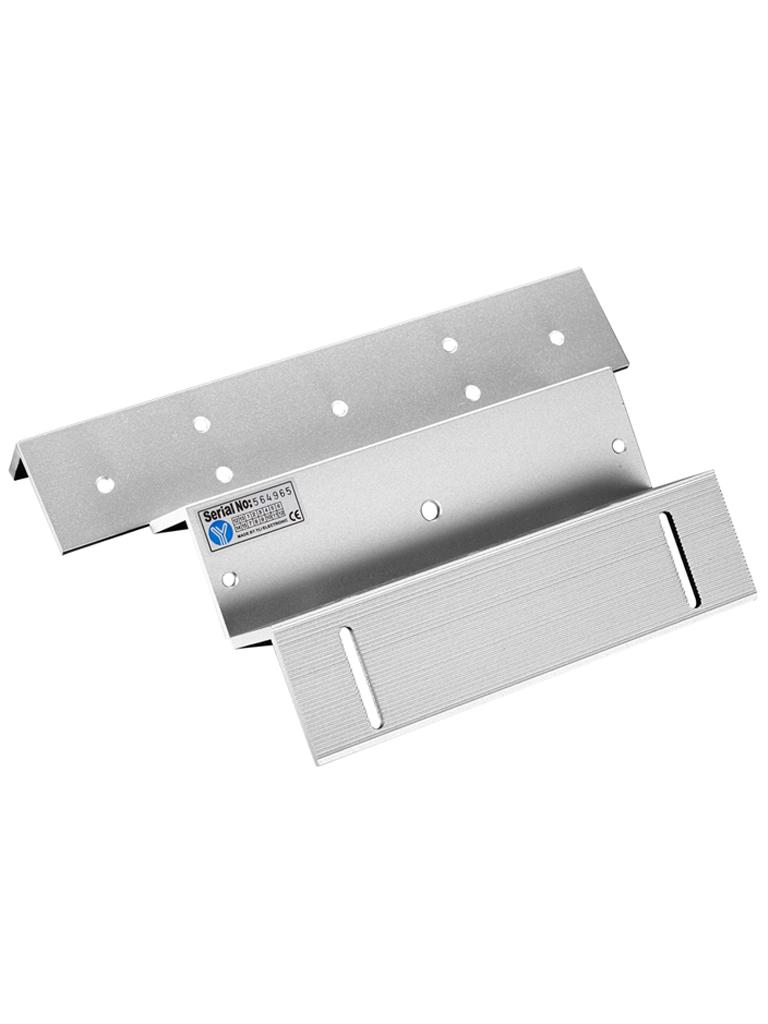 YLI MB500ZLW - Soporte en  ZL para instalacion de chapa magnetica modelo YM500WS para exteriores