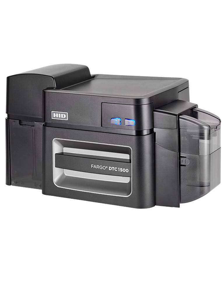 HID DTC1500SS - Impresora de credenciales modelo HID DTC1500/ Impresion a un solo lado/ Funcion de Marca de agua