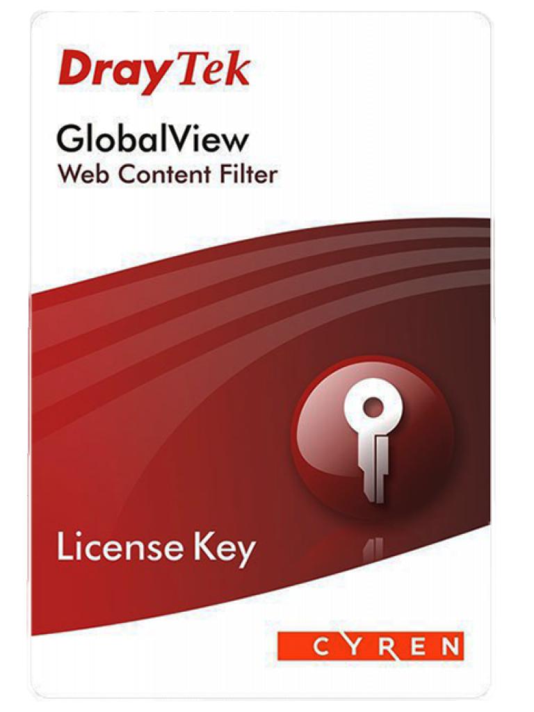 DRAYTEK ACARD- Licencia de Filtrado de Contenido WEB Compatible con Vigor 2830/ 2850/ 2860/ 2862/ 2920/ 2925/ 2926/ 12 Meses
