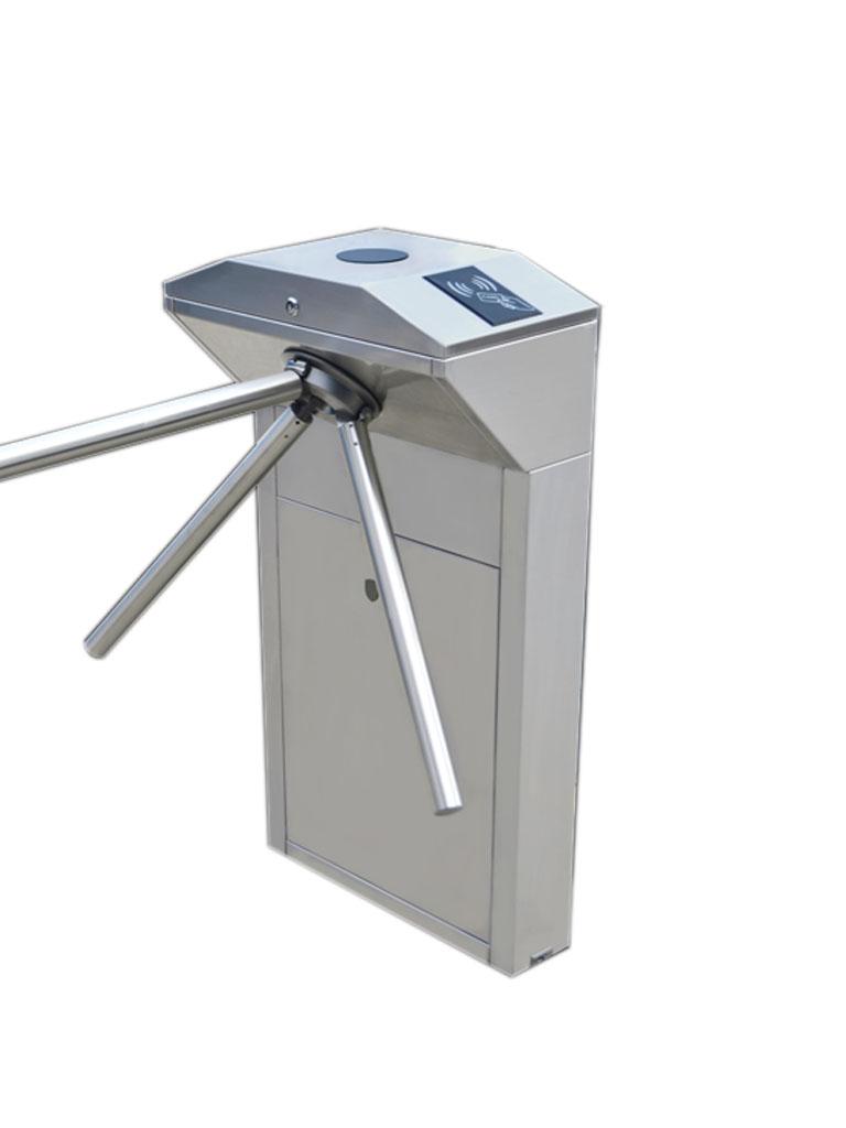 ZKTECO TS1100 - Torniquete Vertical / Semiautomático / Bidireccional / Compatible con Biometricos ZKTECO y Lectores  RFID