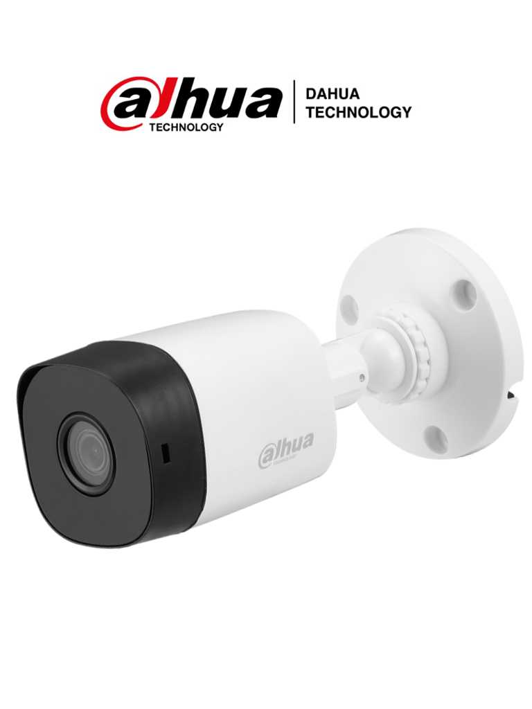 DAHUA COOPER B1A5128 - Camara bullet  HDCVI 5 MP / TVI / A HD / CVBS / Lente 2.8 mm / Smart ir 20  Mts / IP67 /