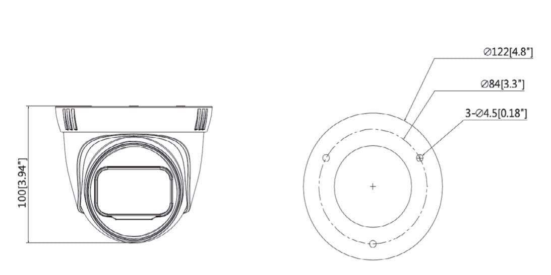 dahua ezip t2b20zs  h265    h265   lente motorizado 2 8 a 12mm   ir 40 mts