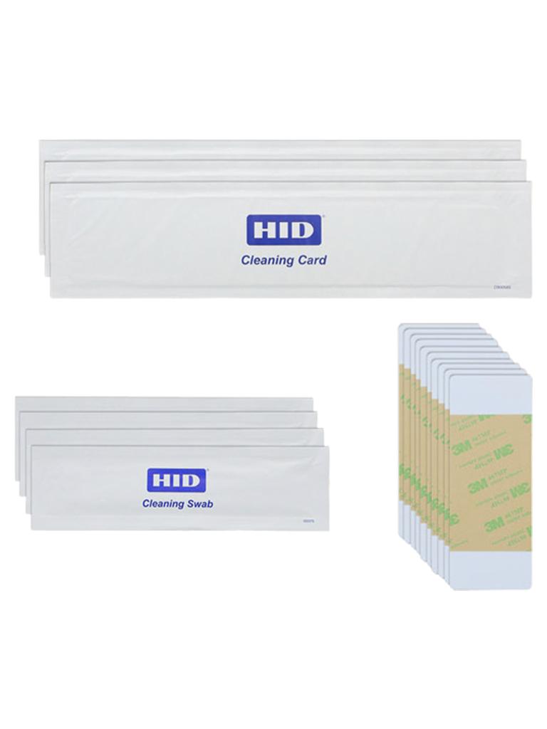 HID KITCLEAN - Kit de limpieza para impresoras Fargo DTC recomendado para cada 1000 impresiones/ Compatible con la linea de impresion directo obre la tarjet