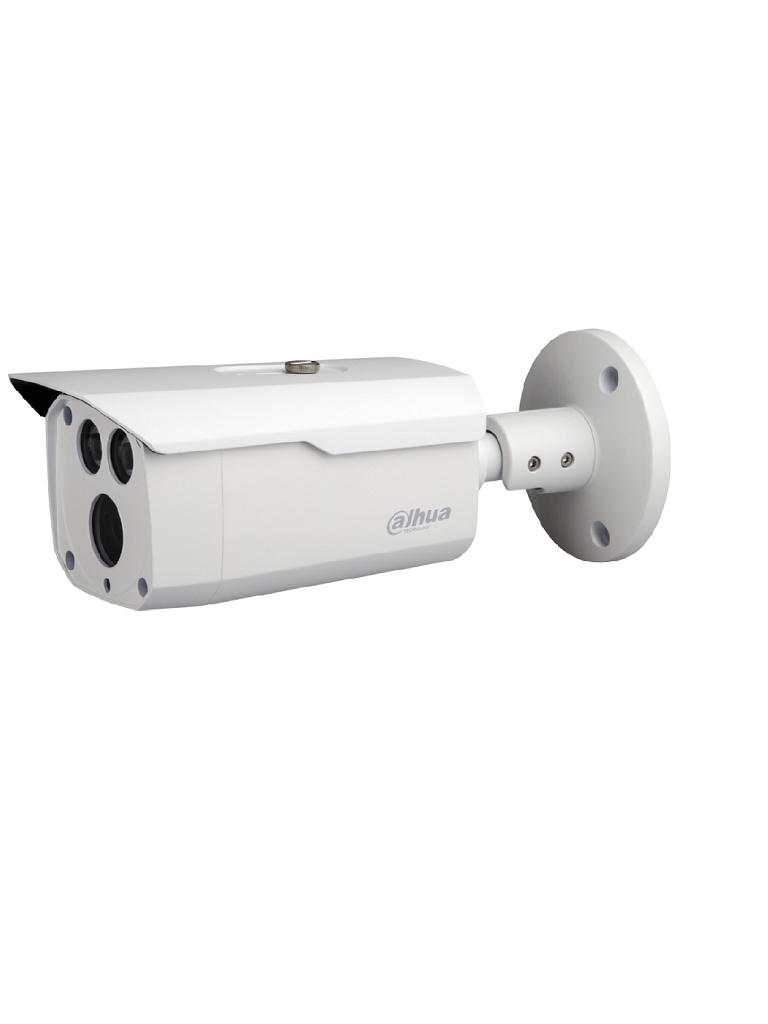 DAHUA HFW1400D36- CAMARA BULLET HDCVI 4MP/ LENTE 3.6MM/ ANGULO DE VISION 84 GRADOS/ DWDR/ SMART IR 80 METROS/ IP67/ MENU OSD/