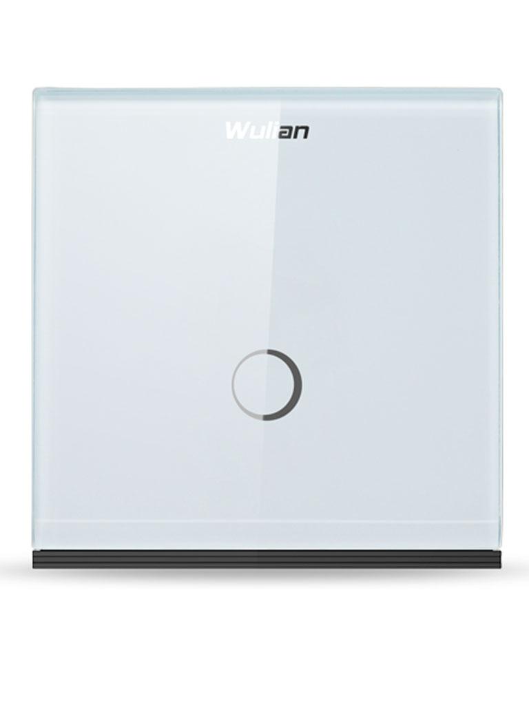 WULIAN SWITCHT1L - Interruptor Inteligente / Touch Conexión L / 1 Botón / 10 Amp /  Zigbee / Carga mínima 15 watts