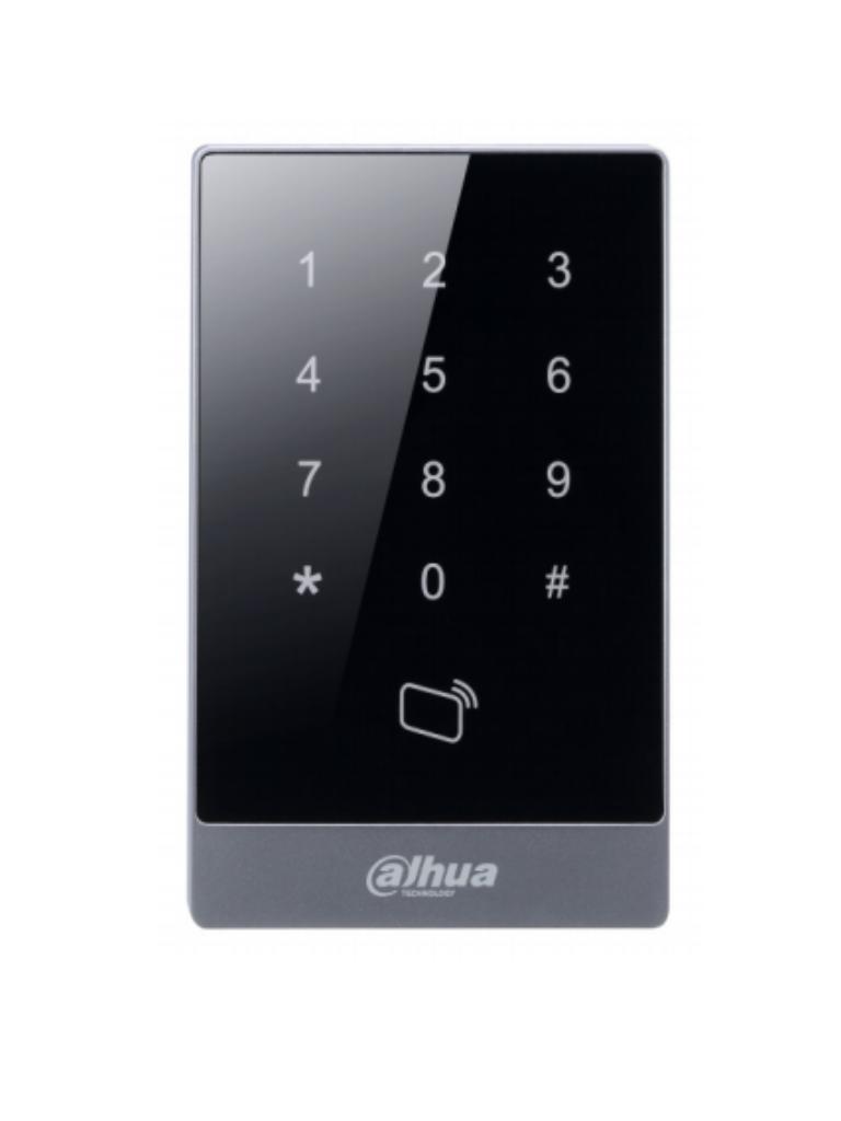 DAHUA ASR1101A - Lectora para tarjetas MIFARE / Conexion  Wiegand o  RS485 / Clasificacion IP55 para intemperie / Desbloqueo por PASSWORD / Indicador de luz