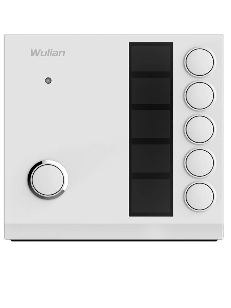 WULIAN ZCENEW - Interruptor de Escena /  Zigbee / Activa Escena con una sola Tecla / Puede Controlarse Remotamente por medio de su Aplicación AIoT SmartHome
