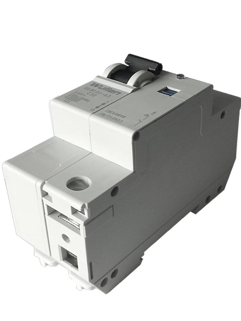 WULIAN SMARTAIRSWITCH - Pastilla térmica inteligente / 30 Amperes / Medidor de consumo / Encendido y apagado remoto.