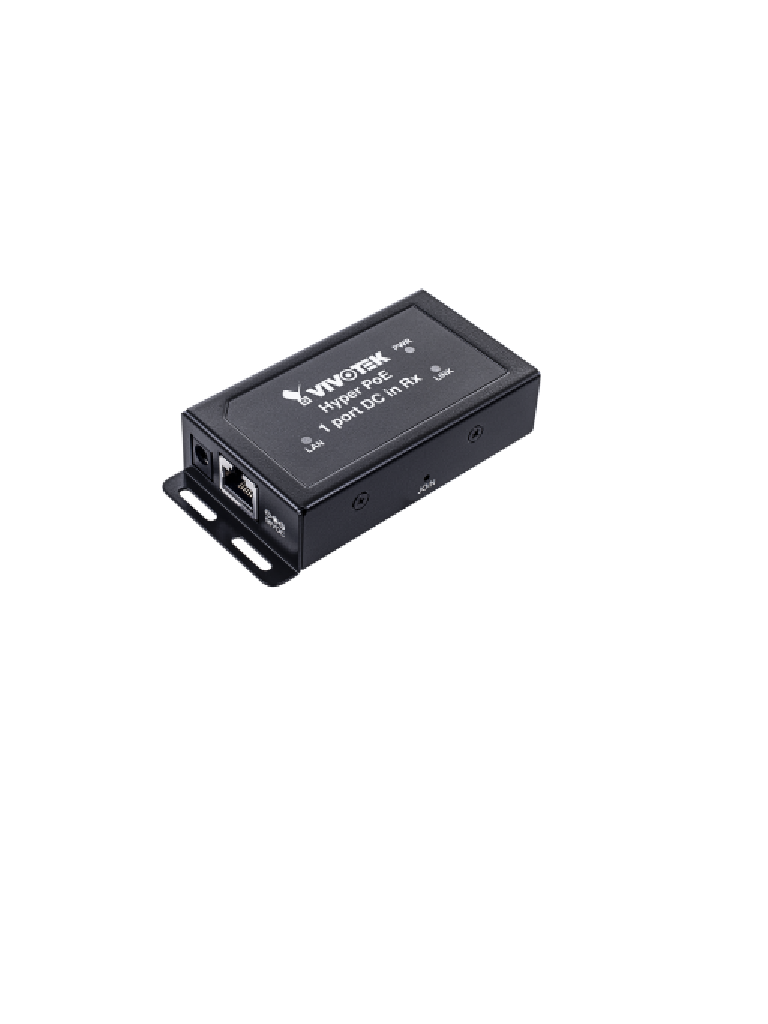 VIVOTEK AP-FHP-0105R - Receptor hiper PoE de larga distancia/ hasta 1200m/ cat 5e/ PoE AF/ 100mbps/ 1 puerto hiper PoE
