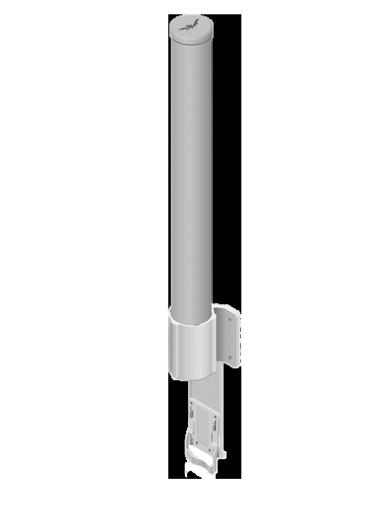 UBIQUITI AMO2G10 - Antena Omnidireccional para access point / 2.4GHz / Ganancia 10 dBi / 2 Conectores SMA hembra inverso