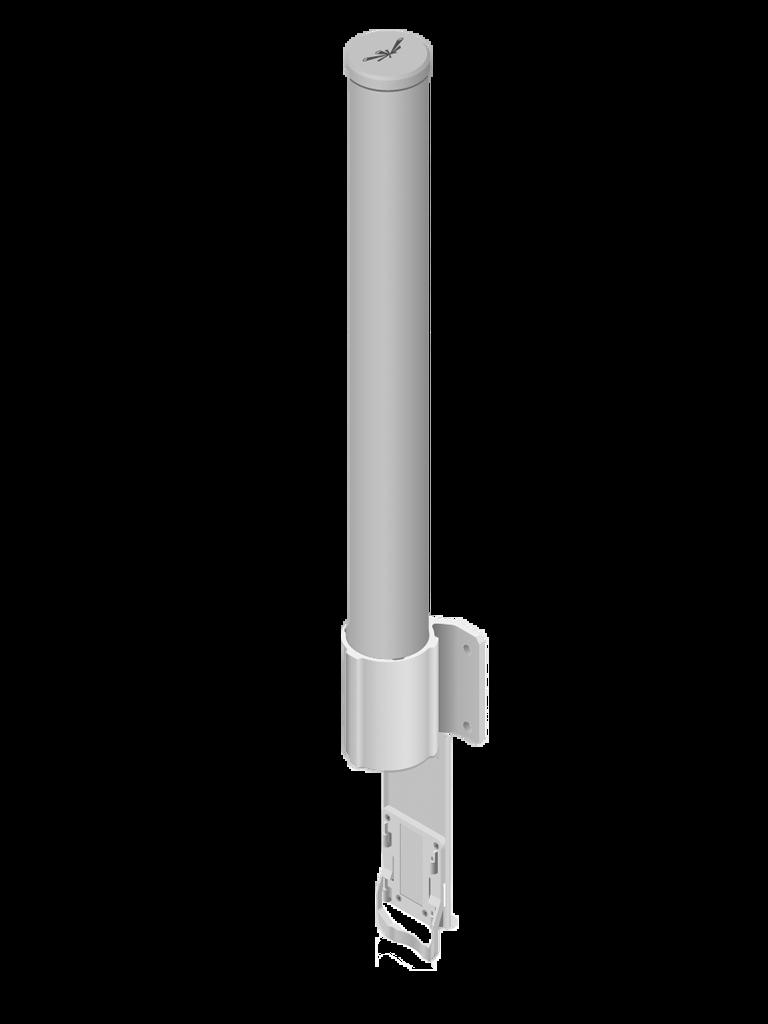 UBIQUITI AMO2G10 - Antena OMNI para access point / 2.4GHZ / Ganancia 10 dBI / 2 Conectores SMA hembra inverso