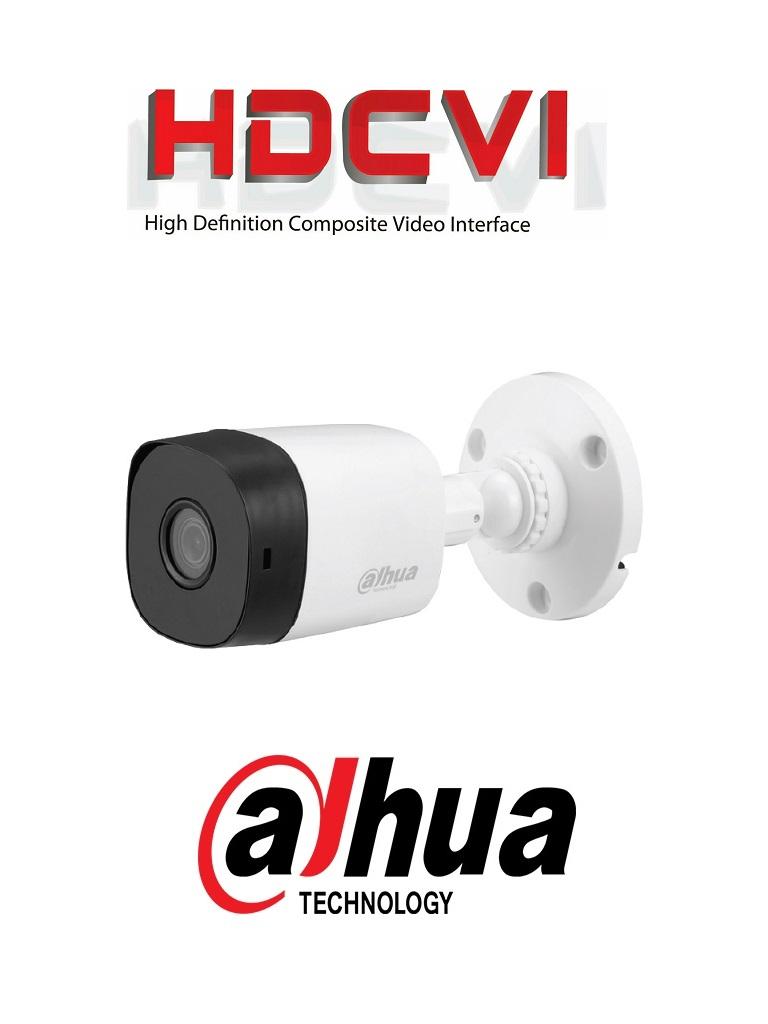 DAHUA COOPER B1A11 - Camara Bullet HDCVI 720p/ 93 Grados de Apertura/ Lente de 2.8mm/ IR 20 Mts/ IP67/ TVI AHD y CVBS