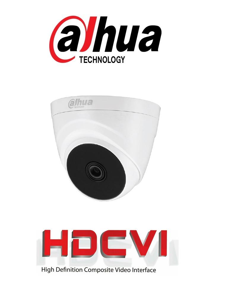 DAHUA COOPER T1A11 - Camara Domo HDCVI 720p/ 93 Grados de Apertura/ Lente de 2.8mm/ IR 20 Mts/ Uso Interior/ TVI, AHD y CVBS/