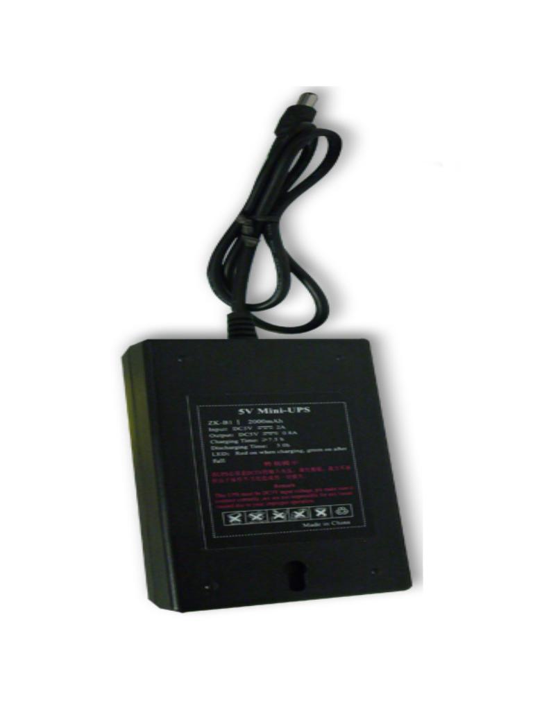 ZKTECO UPS05V - Respaldo de 5V para Control de Asistencia X629C