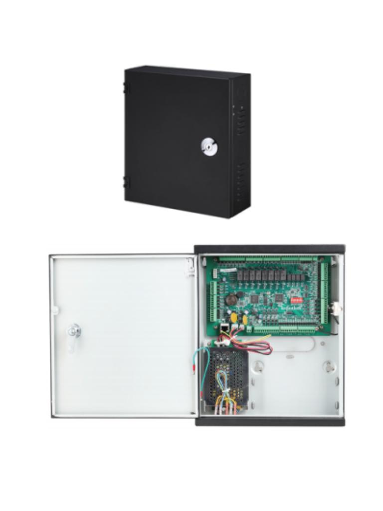 DAHUA ASC1204C - Control de acceso 4 puertas / 4 Lectoras / 100000 Tarjetas / Conexion 110V / TCP IP / Bateria de respaldo / Biometricos DAHUA