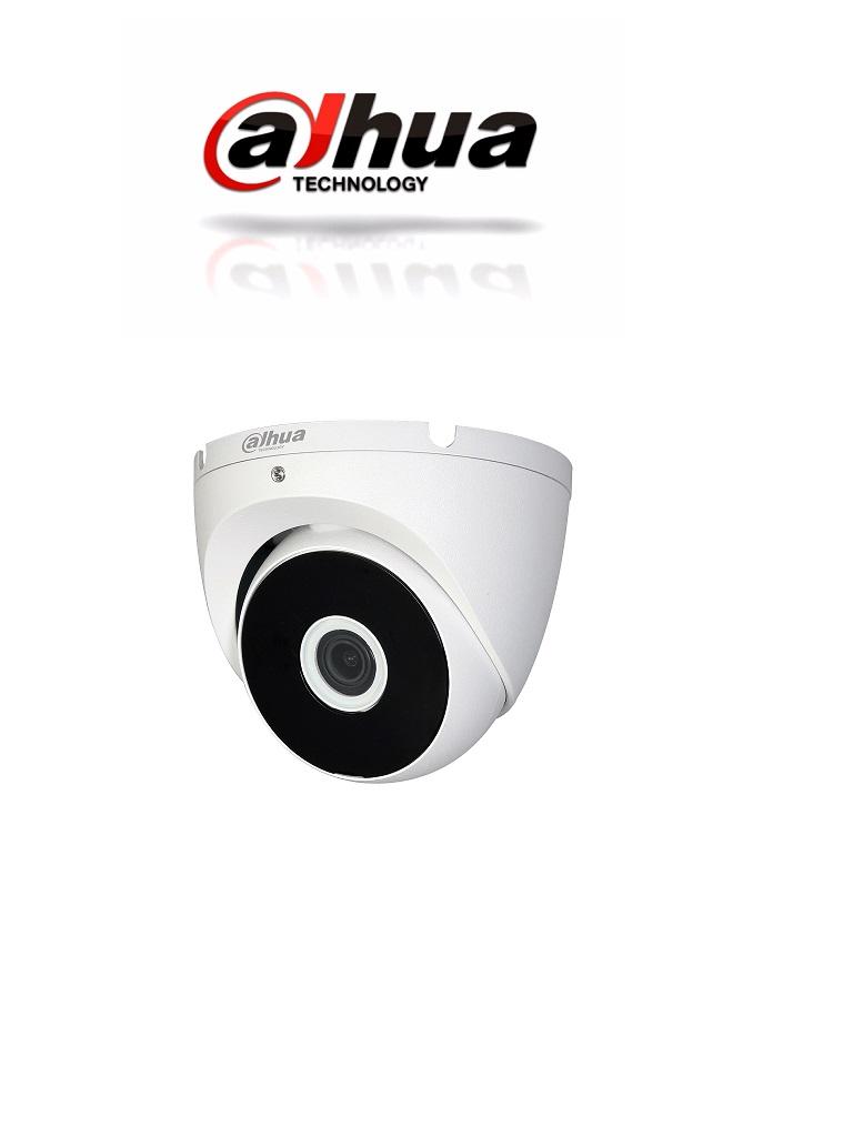 DAHUA COOPER T2A11- CAMARA DOMO HDCVI 720P/ TVI /AHD / CVBS/ LENTE 2.8MM/ SMART IR 20 MTS/ IP67/ METALICA