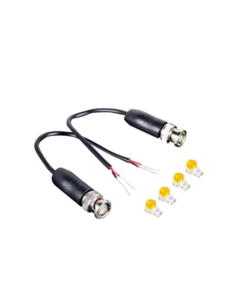 UTEPO UTP101PB1HD - Par de transceptores pasivos  HDCVI / TVI / A HD / CVBS / Para exterior / Resistente al agua / 370 M a  720p / 100M A  1080p