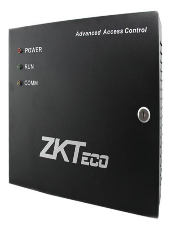 ZKTECO GABMET - Gabinete Metálico para Paneles ZKTECO/ Compatible con Paneles de Control de Acceso/ Incluye Fuente de 12 VCD/ Conexión para Batería de Respaldo