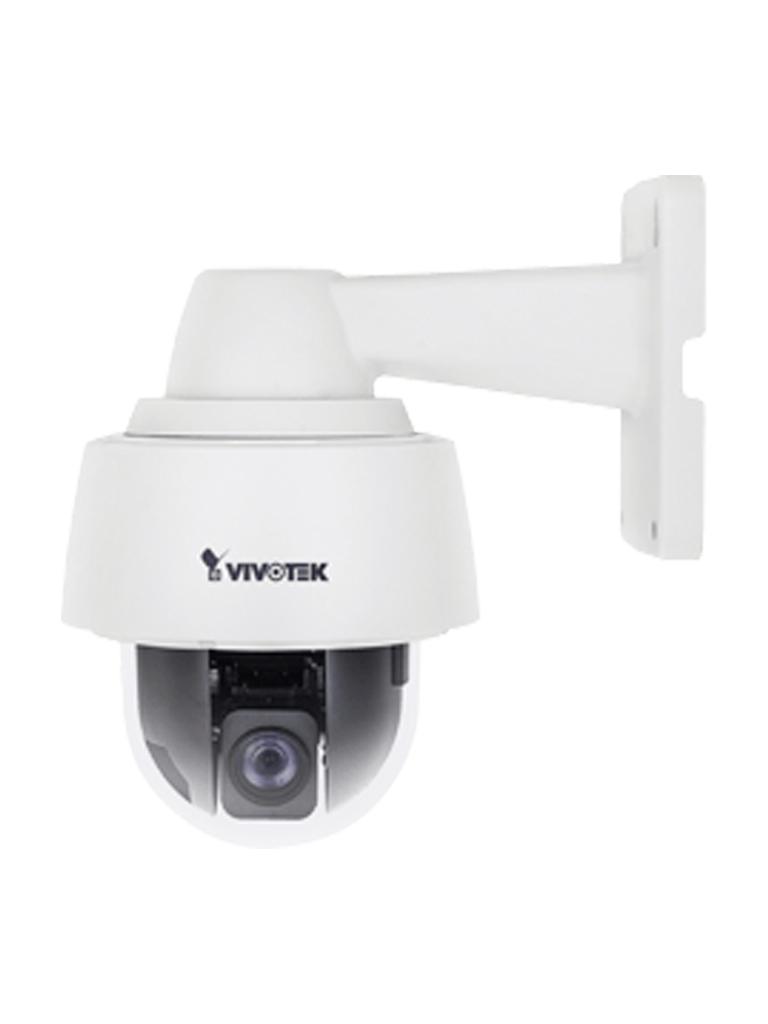 VIVOTEK SD9362EHv2 - Camara IP PTZ exterior / 2 MP Full  HD /Lente Varifocal 4.3 ~ 129 mm/ 30X Zoom / NEMA4X / IK10 / EIS / WDR Pro / H265 / AUTOTRACKING /  IP68 / 48  Watts